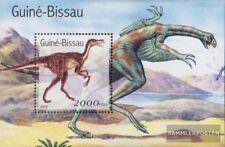 Guinée-bissau Bloc 335 neuf avec gomme originale 2001 Préhistoriques Animaux