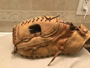 "Nokona SBM-100 14"" Baseball Softball First Base Mitt Left Hand Throw"