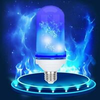 E26/E27 LED Flicker Flame Light Bulb Simulated Burn Fire Effect Festival Party