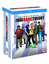 the BIG BANG THEORY Seasons 1-9 [Blu-ray Box Set] TV Show Series Full Collection
