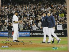 Mariano Rivera Signed NY Yankees 8x10 Last Time on Mound Photo Steiner Sports
