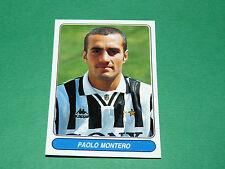 N°39 PAOLO MONTERO JUVENTUS CALCIO PANINI EUROPEAN FOOTBALL STARS 1996-1997