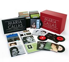 Maria Callas-Callas tous les enregistrements studio remastered 70 CD NEUF