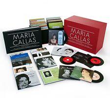 Maria Callas-Callas tutte le registrazioni studio Remastered 70 CD NUOVO