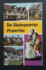 The Shakespearian Properties-Levi Fox-Jarrold-1971-1st-Fine Cond-Card Covers