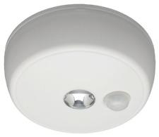 Wireless LED Ceiling Light w Motion Sensor for Closet, Shower, Storage Room NEW!