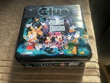 Clue: The Haunted Mansion Disney Theme Park Edition 2002 Hasbro Complete NICE
