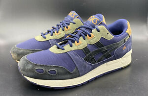 2000s Asics Gel Lyte Gore Tex Purple/Olive Green Low Top Shoes size 8 1193A038