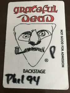 Grateful Dead 1994 - backstage pass Philadelphia - Phil 94