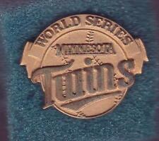 Vintage Original 1987 World Series Minnesota Twins Press Pin
