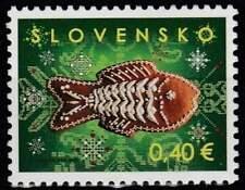 Slowakije postfris 2011 MNH 670 - Kerstmis / Christmas