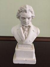 Vintage Beethoven Chalk Ware Music Bust