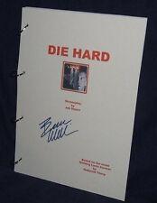 Movie Script - Cast Signed - Die Hard - Bruce Willis