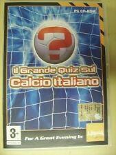 gioco PC Il grande QUIZ sul CALCIO ITALIANO