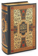 HOLY BIBLE ~ LEATHER GIFT ED ~ ILLUSTRATED GUSTAVE DORE ~ KING JAMES VERSION