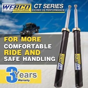 Pair Front Webco Pro Shock Absorbers for HOLDEN APOLLO JK JL Sedan S/Wagon 87-92