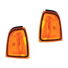 Fits 01-05 Ford Ranger Driver + Passenger Parking Turn Signal Light Lamp 1 Pair