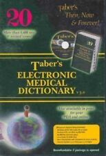 SOFTWARE PC Tabers Electronic Medical Dictionary V. 3.0 3rd Edition NEW SEALED