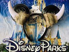 NEW Disney Parks Epcot World Showcase Norway Viking Horns Minnie Ears Headband
