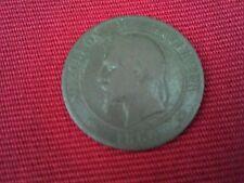 10 CENTIMES NAPOLEON III .1864. K.