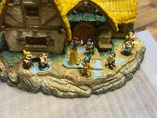 The Disney Collection By Olszewski Snow White And The Seven Dwarves Cottage