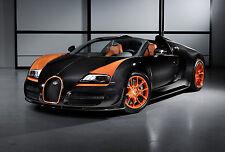 Framed Print - Bugatti Veyron Grand Sport Vitesse (Picture Poster Porsche Audi)