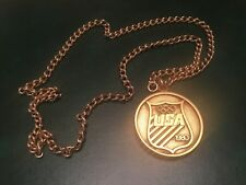 ICOLLECTZONE Olympics 1980 Lake Placid Games Necklace (A500)
