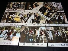 TEXAS JIM Los cuatreros  jeu 10 photos luxe cinema lobby cards western 1964