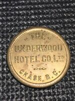 Token, The Underworld Hotel Co. Ltd. Chase B.C. 50 Cents Collectable Coin P001