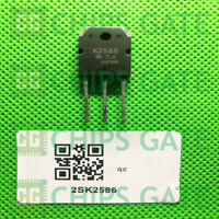 2PCS HITACHI 2SK2586 TO-3P Silicon NPN Triple Diffused IC