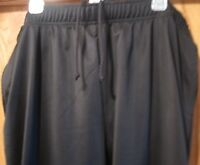 In Play Sweat Pants BLACK Adult Mens Super Soft Performance Pant Size XL NWT