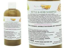 1bottle Liquid Nettle and Herb Shampoo 100% Natural SLS Free 250ml