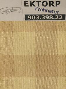 Ikea EKTORP Bezug für Ecksofa 2/2 Skaftarp gelb NEU OVP 903.398.22 Ersatzbezug
