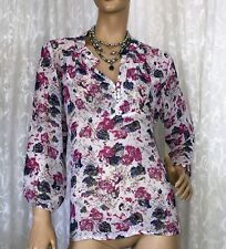CAPTURE SIZE 16 FLORAL TOP AS NEW