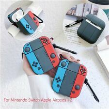 Silicone Bluetooth Earphone Cover Case Bag for Nintendo Switch Apple Airpods 1 2