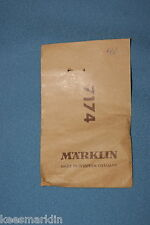 Marklin 7174 Pick Up Shoe  in 60-ies bag
