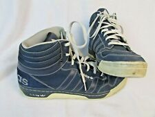 Adidas High Top Shoes Sneakers Size 13 Blue Basketball Baseball Sport
