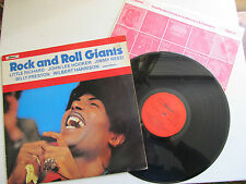 """Rock and Roll Giants 12"""" Compilation Lp Chevron CHVL 098 Released in UK 1979"""