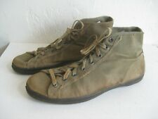 Vtg WWII 40's MILITARY CANVAS PT ATHLETIC BASKETBALL SNEAKERS SHOES USA CONVERSE