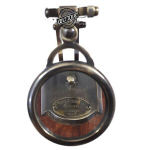 Old London Watkins Model Magnifying Glass Round Lens Reader Map Christmas Decor