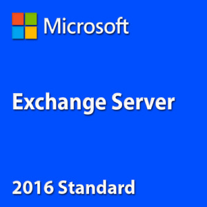 Exchange Server 2016 Standard Key License MS Unlimited CPU Cores Genuine