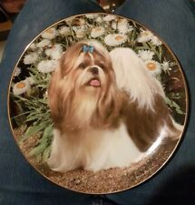 New without Box Picture Perfect - Shih Tzu Plate Danbury mint