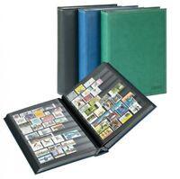 Lindner 1195 - S Einsteckbuch Diamant 60 schwarze Seiten