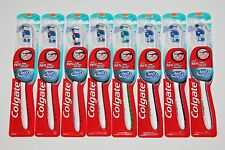 LOT (8) COLGATE 360 WHOLE MOUTH CLEAN TOOTHBRUSH SOFT - FREE SHIPPING