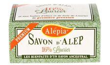 Lot de 4 savons d'Alep Premium 16% laurier
