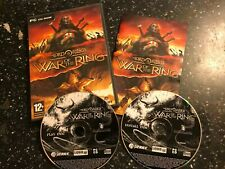 PC CD-ROM THE LORD OF THE RINGS LOTR  WAR OF THE RING O/S WIN 98 2000 ME XP>