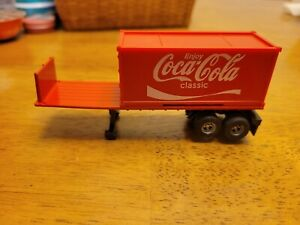 Aurora afx coke coca cola pup trailer bed with full size trailer