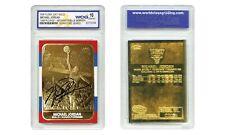 MICHAEL JORDAN 1998 Fleer '86 ROOKIE 23KT Gold Card Rookie Signature Gem-Mint 10