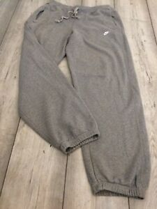 VINTAGE NIKE SWEATPANTS JOGGERS TRACKSUIT BOTTOMS SIZE SMALL GREY