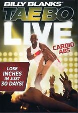 Billy Blanks Tae Bo Cardio Kickboxing - TAE BO Live Cardio Abs!